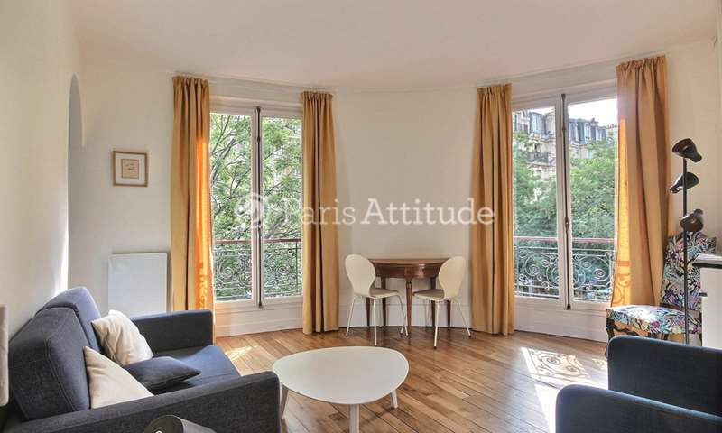 Rent Apartment 1 Bedroom 37m² rue Custine, 18 Paris
