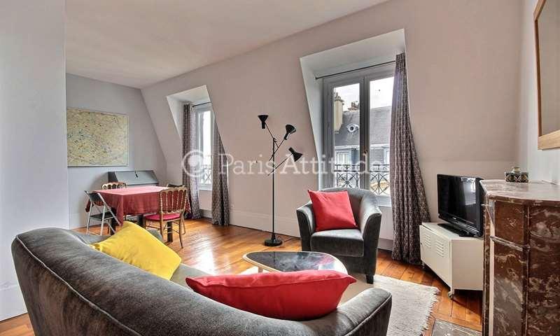 Location Appartement 1 Chambre 40m² rue Jacquemont, 17 Paris