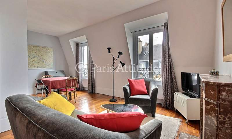 Rent Apartment 1 Bedroom 40m² rue Jacquemont, 75017 Paris