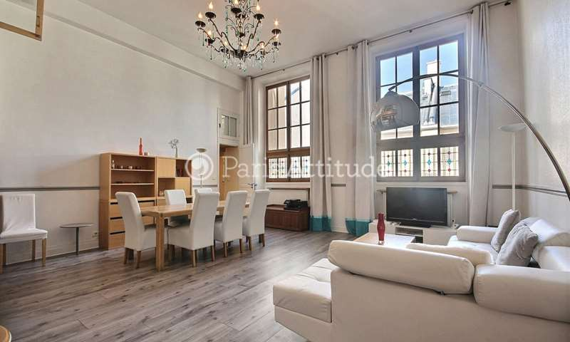 Rent Apartment 3 Bedrooms 105m² rue Reaumur, 2 Paris