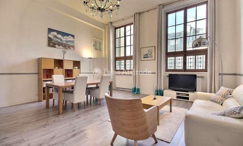 Rent Apartment 3 Bedroom 105m² rue Reaumur, 75002 Paris