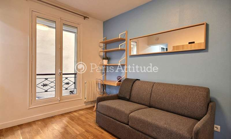 Rent Apartment Studio 17m² avenue Parmentier, 11 Paris