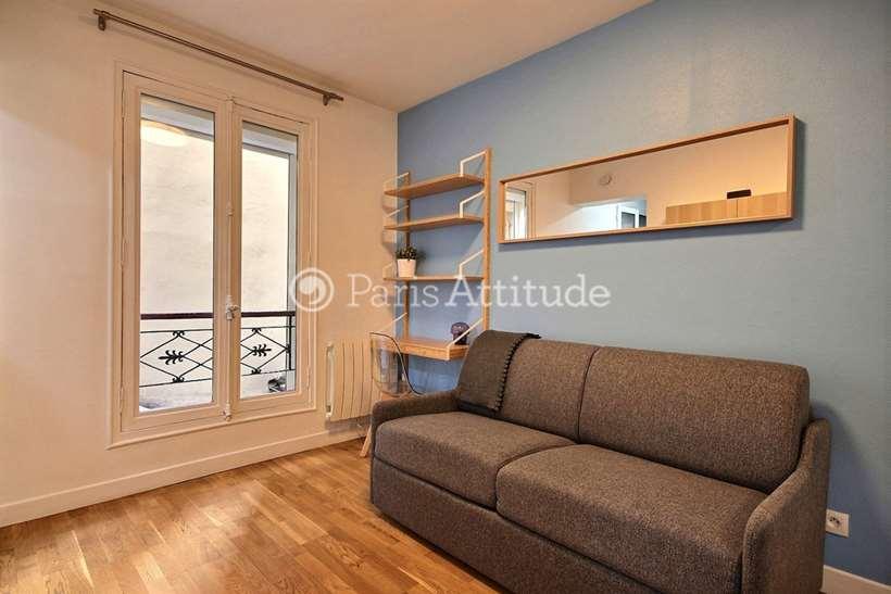 Rent furnished Apartment Studio 17m² avenue Parmentier, 75011 Paris