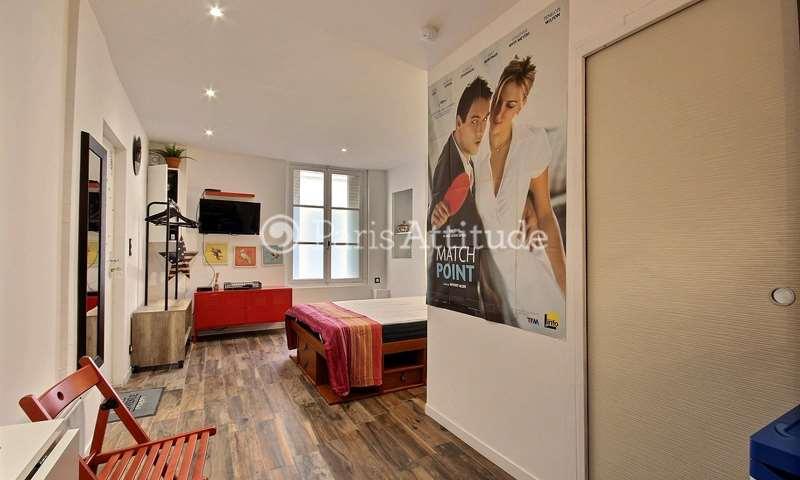 Location Appartement Studio 24m² rue Durantin, 18 Paris
