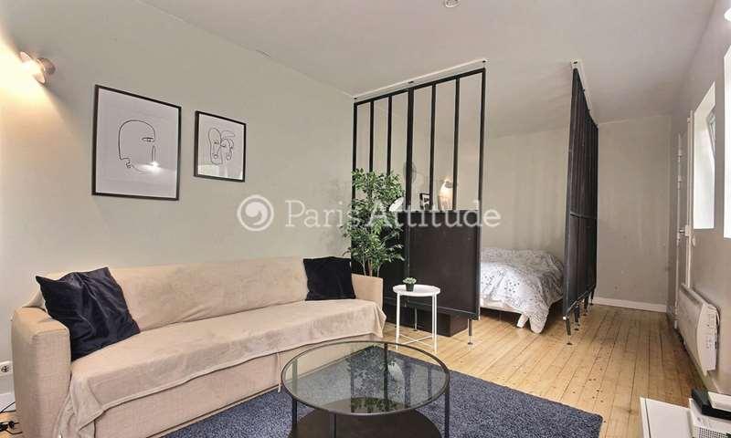 Rent Apartment Alcove Studio 37m² rue Leon Frot, 11 Paris