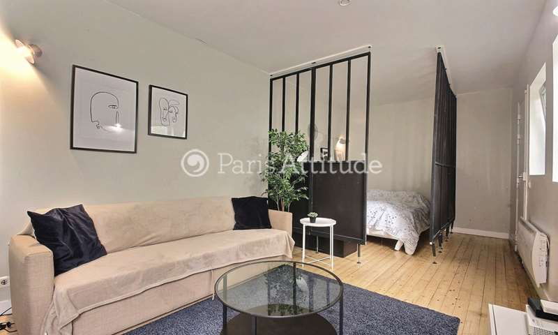 Rent Apartment Alcove Studio 37m² rue Leon Frot, 75011 Paris