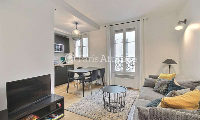 Rent Apartment 1 Bedroom 34m² rue Haxo, 75020 Paris