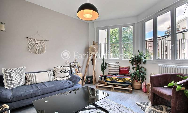Rent Apartment 1 Bedroom 36m² rue de l Atlas, 19 Paris