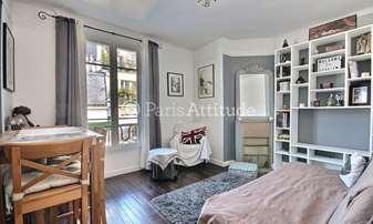 Rent Apartment 1 Bedroom 40m² rue Montcalm, 18 Paris