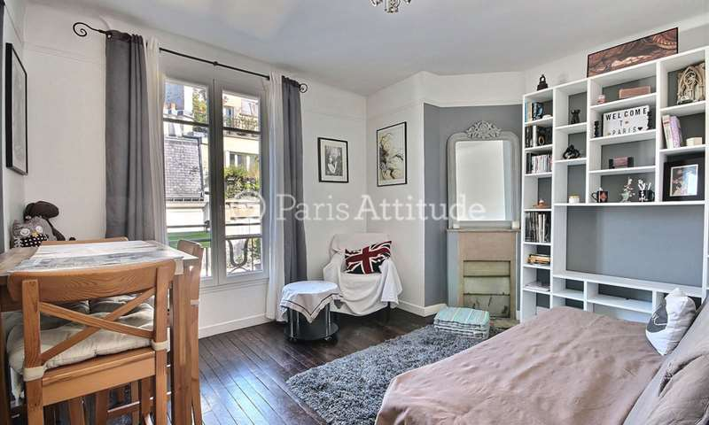 Rent Apartment 1 Bedroom 40m² rue Montcalm, 18 Paris
