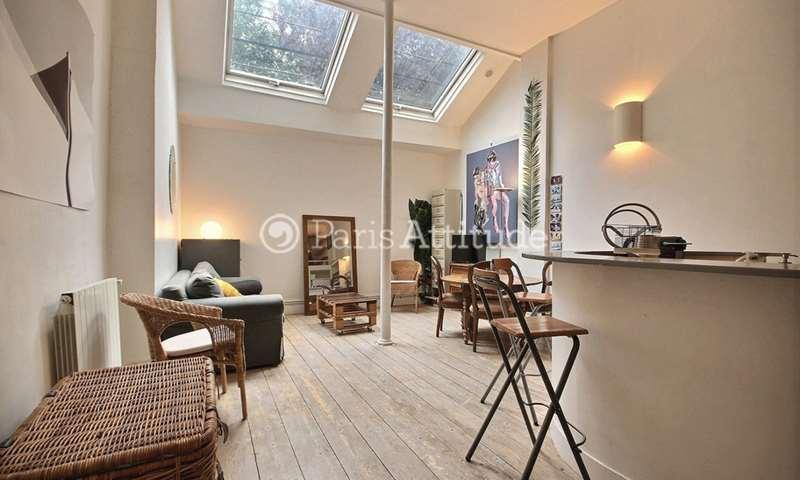 Location Loft 2 Chambres 64m² rue Jean Pierre Timbaud, 11 Paris