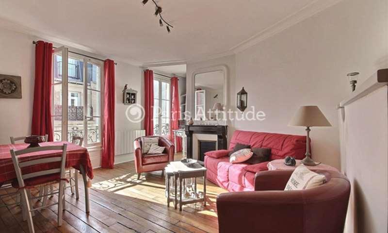 Rent Apartment 1 Bedroom 39m² rue des Trois Freres, 75018 Paris