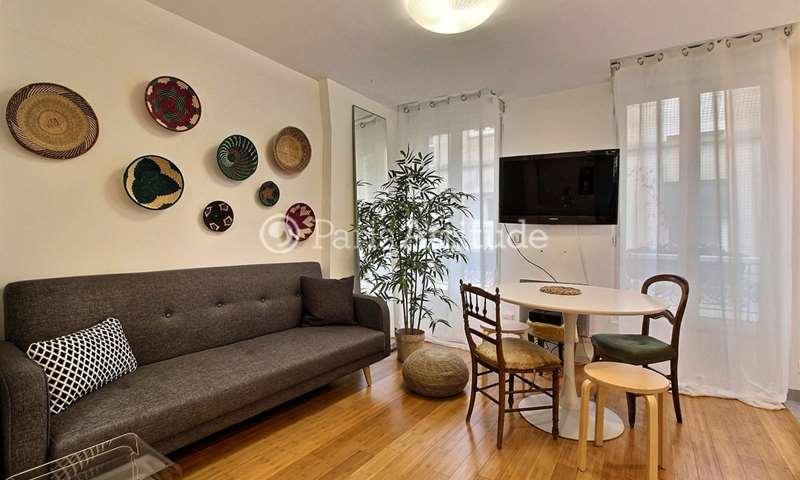 Rent Apartment 1 Bedroom 32m² boulevard de Menilmontant, 11 Paris