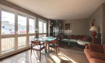 Rent Apartment 1 Bedroom 61m² rue Riquet, 19 Paris