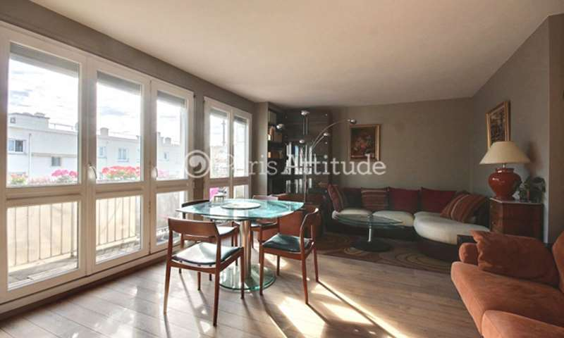 Rent Apartment 1 Bedroom 61m² rue Riquet, 19 Paris