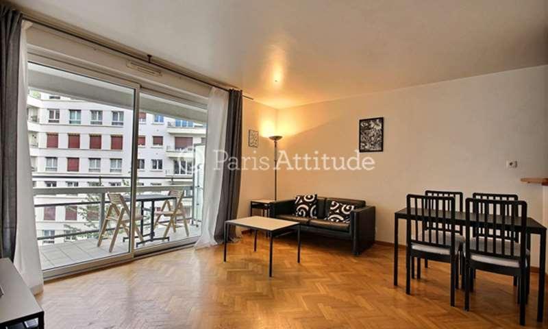 Location Appartement 1 Chambre 50m² rue Paul Hervieu, 75015 Paris