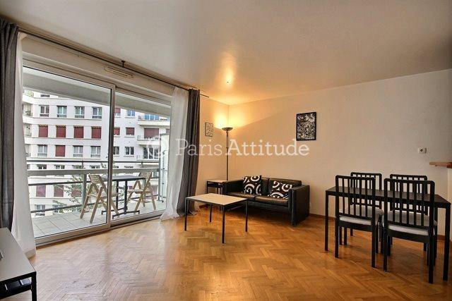 Rent furnished Apartment 1 Bedroom 50m² rue Paul Hervieu, 75015 Paris