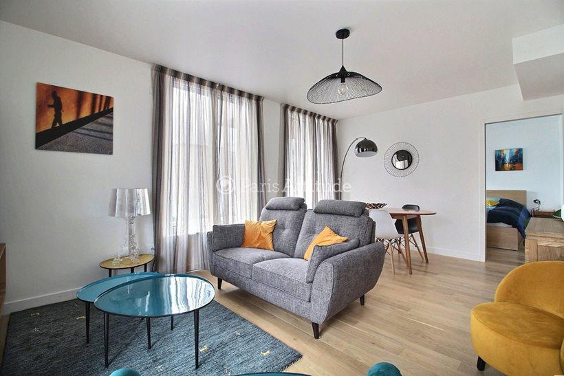 Rent furnished Apartment 1 Bedroom 46m² rue Mstislav Rostropovitch, 75017 Paris