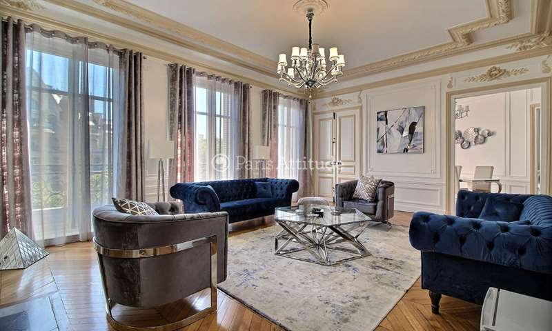 Rent Apartment 4 Bedrooms 230m² avenue Pierre 1er de Serbie, 16 Paris