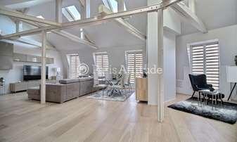 Rent Apartment 2 Bedrooms 93m² avenue Pierre 1er de Serbie, 16 Paris