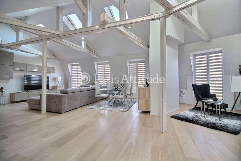 Rent furnished Apartment 2 Bedrooms 93m² avenue Pierre 1er de Serbie, 75016 Paris