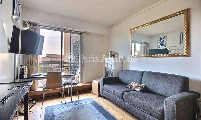 Rent Apartment Studio 20m² rue du Commandant Schloesing, 75016 Paris