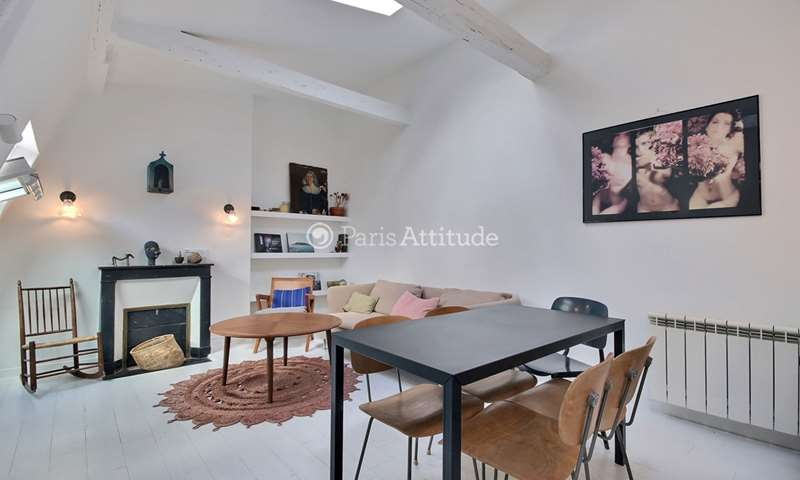 Rent Apartment 2 Bedroom 46m² rue Taylor, 75010 Paris