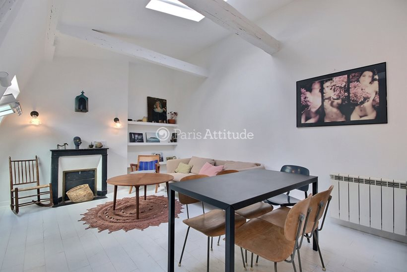 Rent furnished Apartment 2 Bedrooms 51m² rue Taylor, 75010 Paris