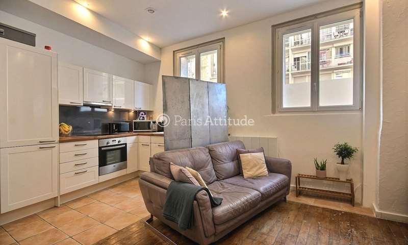 Rent Apartment 1 Bedroom 37m² rue Haxo, 20 Paris