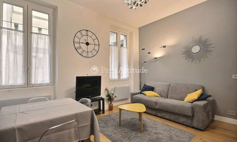 Rent Apartment 1 Bedroom 41m² rue de Monttessuy, 7 Paris