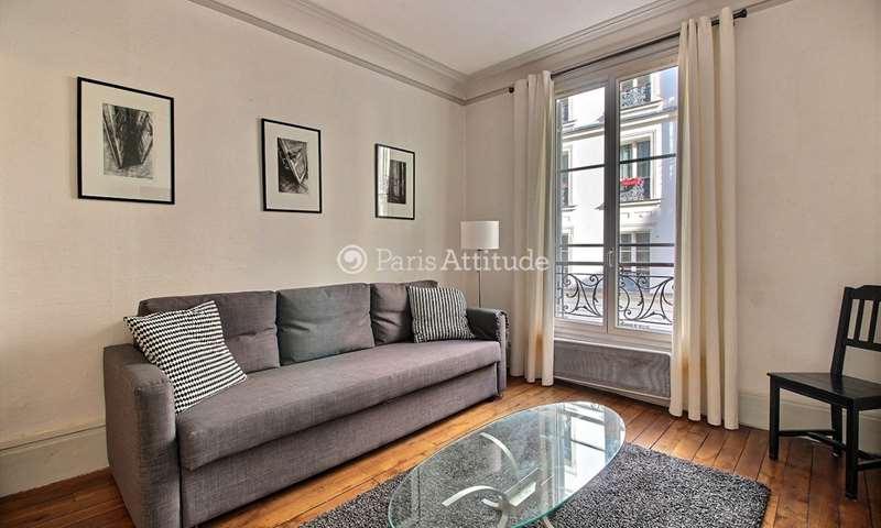 Location Appartement Studio 27m² rue du Dome, 16 Paris