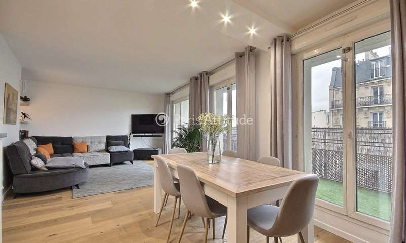 Rent Apartment 2 Bedrooms 75m² avenue de Clichy, 17 Paris