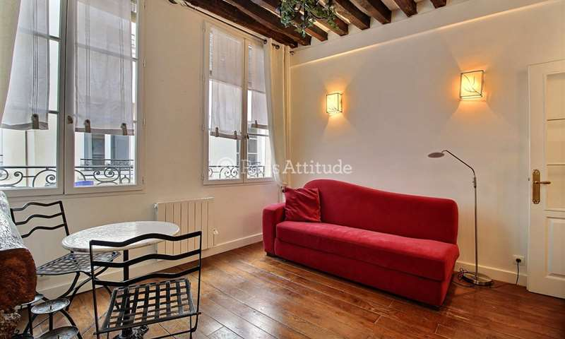 Rent Apartment Studio 16m² rue Xavier Privas, 5 Paris