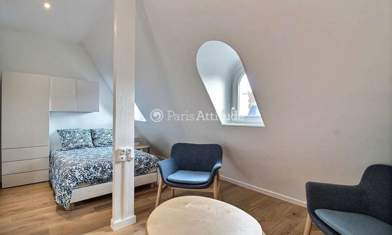 Rent Apartment Studio 21m² rue de La Tremoille, 8 Paris