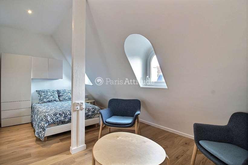Aluguel Apartamento mobiliado Quitinete 21m² rue de La Tremoille, 75008 Paris