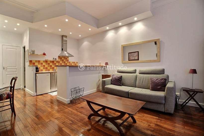 Louer Appartement meublé Studio 30m² rue Laurent Pichat, 75016 Paris