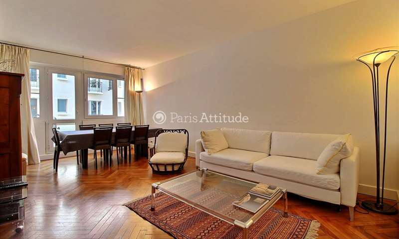 Rent Apartment 1 Bedroom 58m² rue des Patures, 16 Paris
