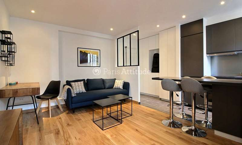 Rent Apartment 1 Bedroom 35m² rue des Moines, 75017 Paris