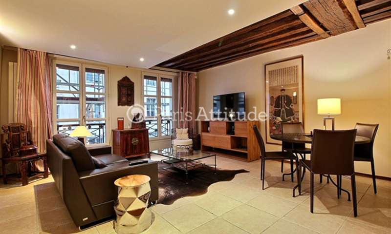 Rent Apartment 1 Bedroom 60m² rue Saint Honore, 75001 Paris