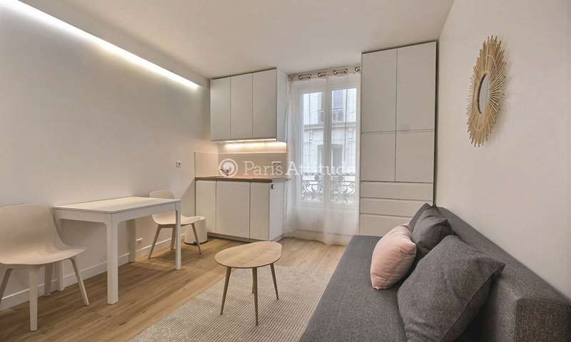 Rent Apartment Studio 15m² rue Cauchois, 18 Paris