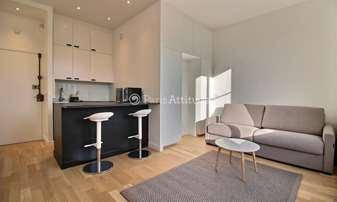 Rent Apartment Studio 23m² boulevard Saint Germain, 6 Paris