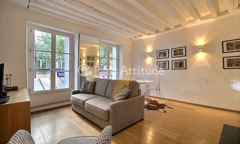 Rent Apartment 1 Bedroom 34m² rue de Bretagne, 75003 Paris