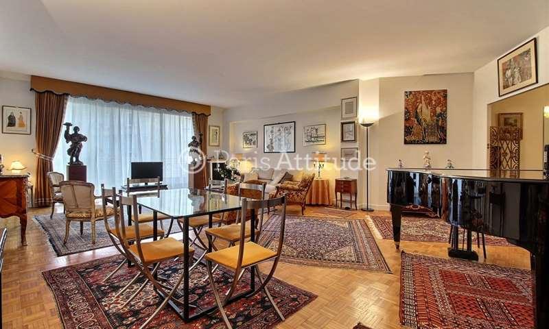 Rent Apartment 2 Bedrooms 118m² avenue Paul Doumer, 16 Paris