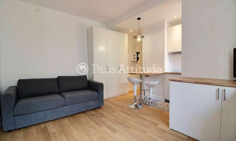 Rent Apartment Studio 18m² rue Barthelemy Danjou, 92100 Boulogne Billancourt
