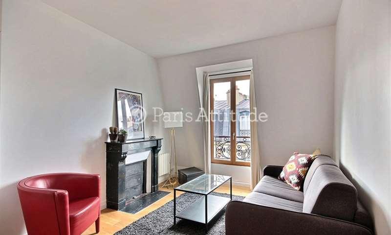 Rent Apartment Studio 20m² rue Cavallotti, 18 Paris