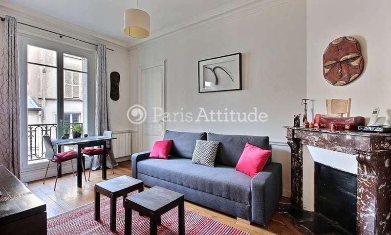 Rent Apartment 1 Bedroom 41m² rue Fauvet, 75018 Paris