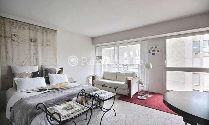 Rent Apartment Studio 39m² rue Jean Bologne, 16 Paris