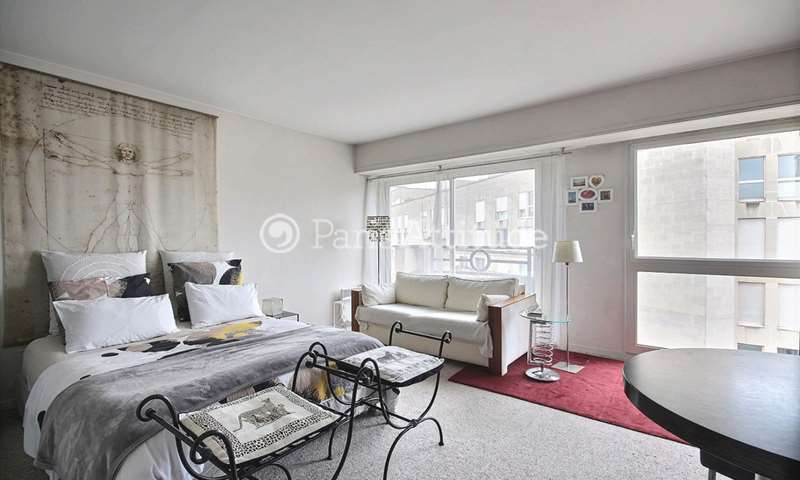 Rent Apartment Studio 39m² rue Jean Bologne, 75016 Paris