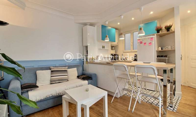 Rent Apartment 1 Bedroom 36m² rue Ordener, 18 Paris