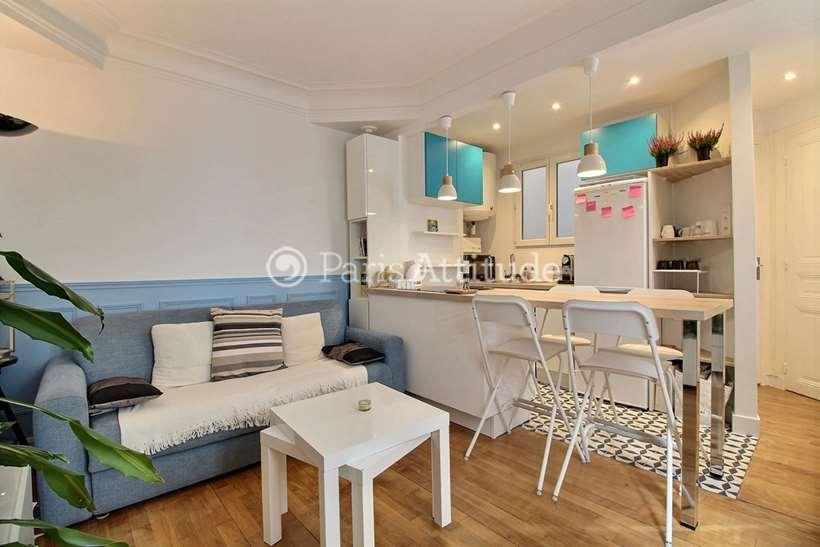Rent furnished Apartment 1 Bedroom 36m² rue Ordener, 75018 Paris